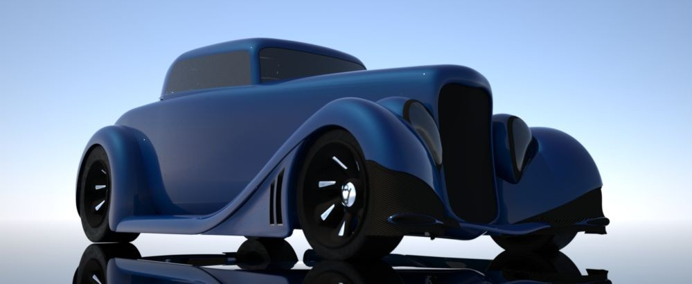 design blog of ploy Ford the CoyoteHotrod Reduced model BxrWQECode